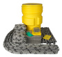 Brady® 95 gal Drum AllWik® Yellow Polypropylene Spill Kit