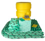 Brady® 95 gal Drum HazWik® Yellow Polypropylene Spill Kit