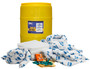 Brady® 55 gal Drum SPC™ Yellow Polypropylene Spill Kit