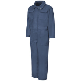 Red Kap Size 2X Regular Navy Duck Polyester Lined 10 Ounce Polyester Cotton Coveralls