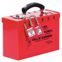 Master Lock® Red Steel Group Lock Box