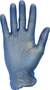 Safety Zone® Medium Blue 5 mil Latex-Free Vinyl Powder-Free Disposable Gloves (100 Gloves Per Box)