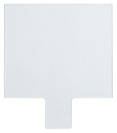 Kimberly-Clark Professional* Clear Polycarbonate Jackson Safety* Inside Cover Plate For NexGen* ADF