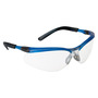 3M™ BX™ Blue And Black Frame Safety Glasses With Clear Anti-Fog Lens