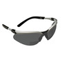 3M™ BX™ 2 Diopter Silver And Black Frame Safety Glasses With Gray Anti-Fog Lens