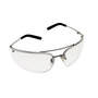 3M™ Metaliks™ Polished Metal Frame Safety Glasses With Clear Anti-Fog Lens
