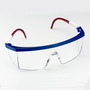 3M™ Nassau Plus™ Red, White And Blue Frame Safety Glasses With Clear Anti-Fog Lens