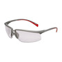 3M™ Privo™ Silver Frame Safety Glasses With Clear Anti-Fog Lens