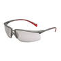 3M™ Privo™ Silver Frame Safety Glasses With Mirror Anti-Fog, Indoor/Outdoor Mirror Lens