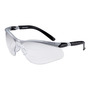 3M™ BX™ Dual Readers 2 Diopter Silver And Black Frame Safety Glasses With Clear Anti-Fog Lens