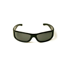 3M™ Moon Dawg™ Black Frame Safety Glasses With Gray Anti-Fog Lens