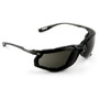 3M™ Virtua™ Black Frame Safety Glasses With Gray Anti-Fog Lens