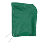 Tingley Large Green Safetyflex®  17 mil PVC And Polyester Detachable Hood  With Snap