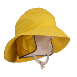 Tingley X-Large Yellow Industrial Work .35 mm PVC And Polyester Lined Rain Hat With Ear Flaps