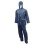 Tingley X-Large Navy Tuff-Enuff Plus™ .25 mm PVC And Nylon 2-Piece Rain Suit