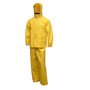 Tingley X-Large Yellow Comfort-Tuff® .35 mm PVC And Polyester 2-Piece Rain Suit