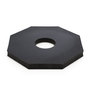 JBC™ Black Recyled Rubber Delineator Base