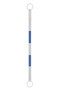 JBC™ 3 1/2' - 6' Blue And White ABS Plastic Cone Bar