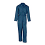 Chicago Protective Apparel X-Large Blue 7.75 Ounce Polycotton Coveralls With Two Way Brass Front Zipper Closure