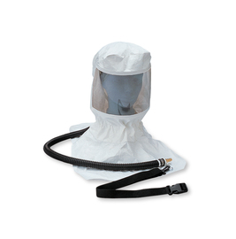 Allegro® Industries Poly-Coated Tyvek® Low Pressure Respirator Hood Assembly Supplied Air System