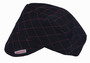 Comeaux Caps Black Quilted 3000 Series Cotton Welder's Cap