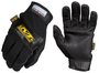 Mechanix Wear® Size 8 Black CarbonX Level 1 Leather And CarbonX Full Finger Mechanics Gloves With Hook And Loop Cuff