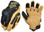 Mechanix Wear® Size 12 Black And Brown CG Heavy Duty Leather Full Finger Mechanics Gloves With Hook And Loop Cuff