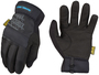 Mechanix Wear® Size 9 Black FastFit® Water Resistant SoftShell™ And Synthetic Leather Fleece Lined Cold Weather Gloves With Elastic Cuff