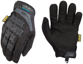 Mechanix Wear® Size 11 Black The Original® Insulated Water And Wind Resistant Synthetic Leather And SoftShell™ Fleece Lined Cold Weather Gloves With Touchscreen Technology