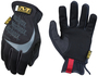 Mechanix Wear® Size 9 Black And Gray FastFit® Synthetic Leather And TrekDry® Full Finger Mechanics Gloves With Elastic Cuff