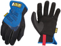 Mechanix Wear® Size 8 Black And Blue FastFit® Synthetic Leather And TrekDry® Full Finger Mechanics Gloves With Elastic Cuff