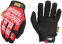 Mechanix Wear® Size 10 Black And Red The Original® Synthetic Leather And TrekDry® Full Finger Mechanics Gloves With Hook And Loop Cuff