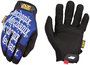 Mechanix Wear® Size 9 Black And Blue The Original® Synthetic Leather And TrekDry® Full Finger Mechanics Gloves With Hook And Loop Cuff