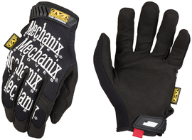 Mechanix Wear® Size 6 Black The Original® Synthetic Leather And TrekDry® Full Finger Mechanics Gloves With Hook And Loop Cuff