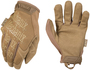 Mechanix Wear® Size 10 Tan The Original® Synthetic Leather And TrekDry® Full Finger Mechanics Gloves With Hook And Loop Cuff