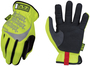 Mechanix Wear® Size 10 Hi-Viz Yellow FastFit® Synthetic Leather And TrekDry® Full Finger Mechanics Gloves With Elastic Cuff
