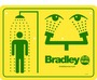 Bradley® Eye Wash And Shower Safety Sign