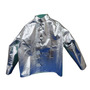Chicago Protective Apparel Size 3X Silver Aluminized Para-Aramid Blend Heat Resistant Jacket