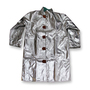 Chicago Protective Apparel X-Large Silver Aluminized Rayon Heat Resistant Coat