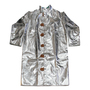 Chicago Protective Apparel Size 2X Silver Aluminized Rayon Heat Resistant Coat