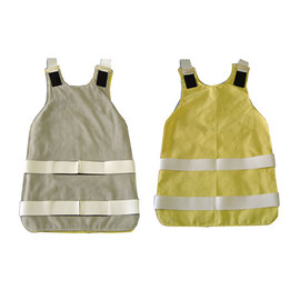 Chicago Protective Apparel Yellow Kevlar® Twill Heat Resistant Kick-Back Apron