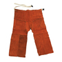 Chicago Protective Apparel Size 3X Rust Split Leather Cowboy-Style Chaps