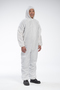 West Chester 2X White Polypropylene Disposable Coveralls