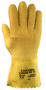 Ansell Size 10 Golden Grab-It® II Heavy Weight Latex And Natural Rubber Work Gloves With Yellow Jersey And Knit Liner And Gauntlet Cuff