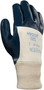 Ansell Medium Hycron® Heavy Weight Nitrile Work Gloves With Blue Jersey Liner And Knit Wrist