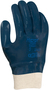 Ansell Size 9 Hycron® Heavy Weight Nitrile Work Gloves With Blue Jersey Liner And Knit Wrist