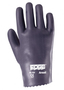 Ansell Size 9 Edge® Medium Weight Foam Nitrile Work Gloves With Gray Interlock Cotton Liner And Slip-On Cuff
