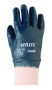 Ansell Size 8.5 Hylite® Medium Weight Nitrile Work Gloves With Blue Cotton Liner And Knit Wrist Cuff