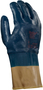 Ansell Small Hylite® Medium Weight Nitrile Work Gloves With Blue Knit Liner And Safety Cuff