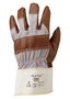 Ansell Size 10 Hyd-Tuf® Heavy Weight Nitrile Work Gloves With Brown Jersey Liner And Safety Cuff